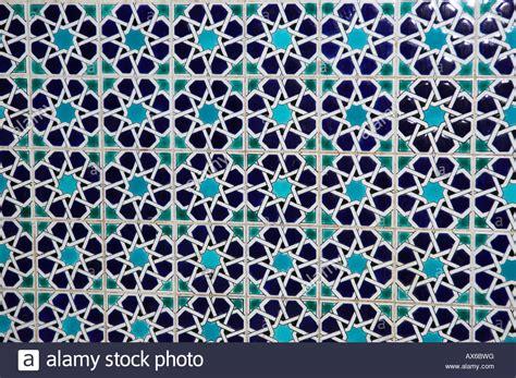 islamic pattern tiles products geometric pattern of islamic tiles muscat oman stock photo