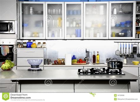 kitchen view modern kitchen front view royalty free stock image image 16720936