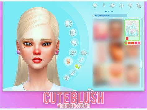 Sims 4 Kawaii Skins | whichbringsdeath s cute blush