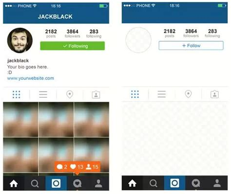 layout instagram gratis image gallery instagram profile layout