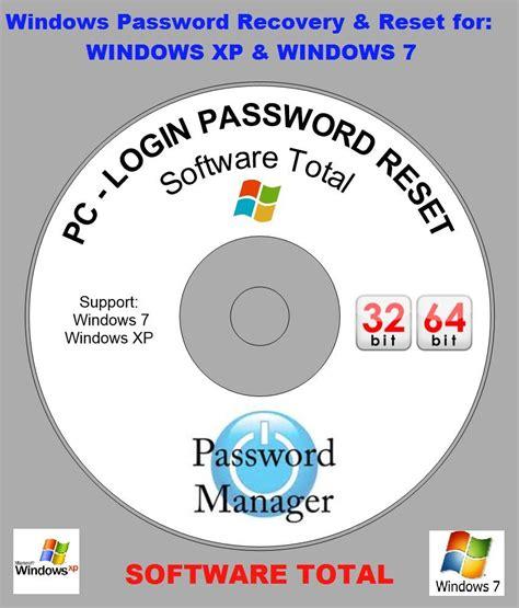 password reset disc xp windows pc login password recovery reset disk for window