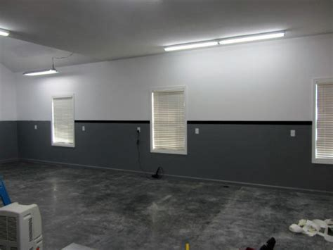 Garage Interior Paint 50 Garage Paint Ideas For Masculine Wall Colors And