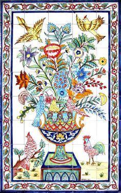 islamic persian tile fountain iran art culture