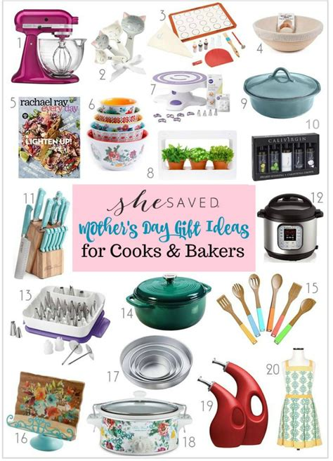 gift ideas for cooks mother s day gift ideas for cooks and bakers shesaved 174