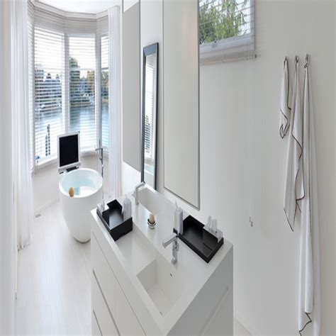 large freestanding bath  standing bathroom vanity