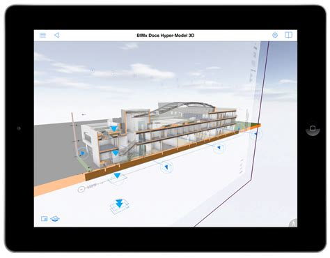 section archicad the debut of bimx docs bim engine by archicad