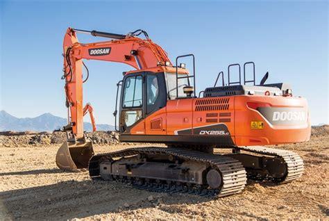 dx255lc crawler excavator doosan products equipment