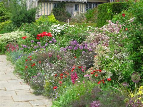 cottage garden border plan colour in your garden bay landscape