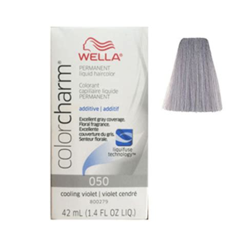 cooling violet toner wella on gray hair wella color charm liquid permanent hair color cooling
