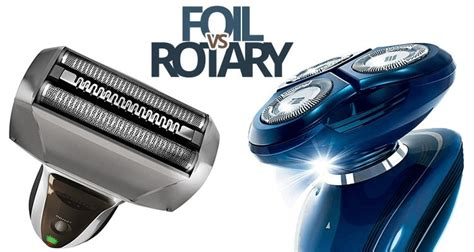 electric shaver is better than a razor for in grown hair how does electric shaver work rotary vs foil shaver