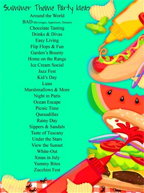fun summer party ideas summer party theme ideas savvy entertaining