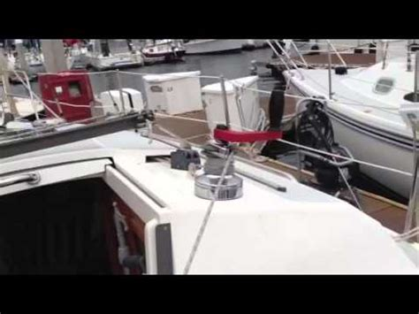 replacing boat navigation lights up the mast of my sailboat doovi