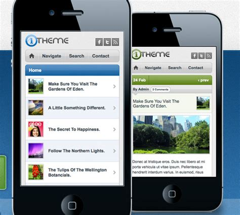 themes for mobile wordpress fairly affordable collection of mobile wordpress themes