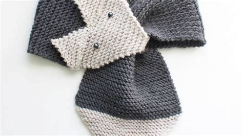 knitting patterns scarf youtube knit a cute fox scarf diy style guidecentral youtube