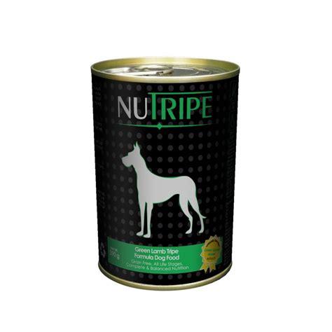 best canned puppy food nutripe green tripe canned food