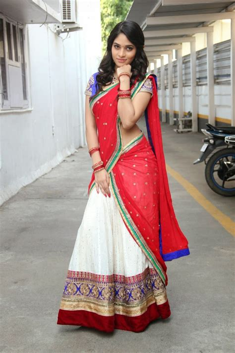 how to wear half saree in south indian style saree guide