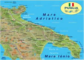 Puglia Italy Map by Apulia Map Italy Pictures To Pin On Pinterest
