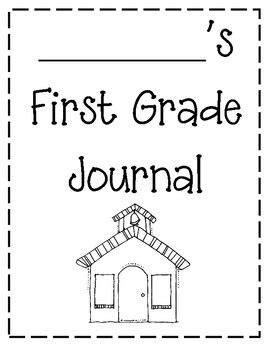 printable journal pages first grade first grade journal template by jeremie tharp teachers