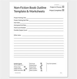 Book Chapter Outline Template by Book Outline Template 17 Sles Exles And Formats Dotxes