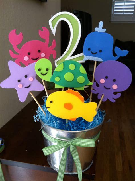 items similar to the sea theme centerpiece on etsy