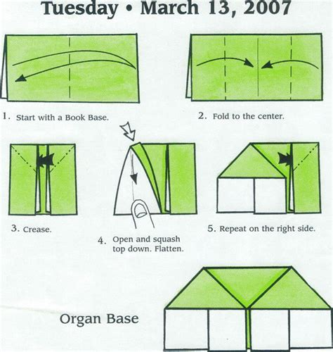 Origami Base - organ base origami