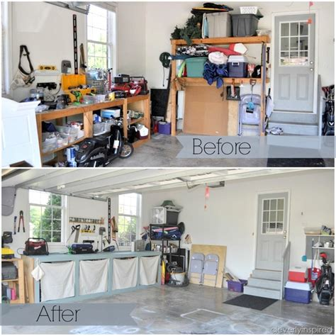 how to organize garage 10 inexpensive tips to organize the garage