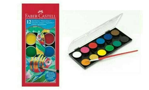 Jual Cat Air Faber Castell by Jual Cat Air Paint Cake Faber Castell Be Bears