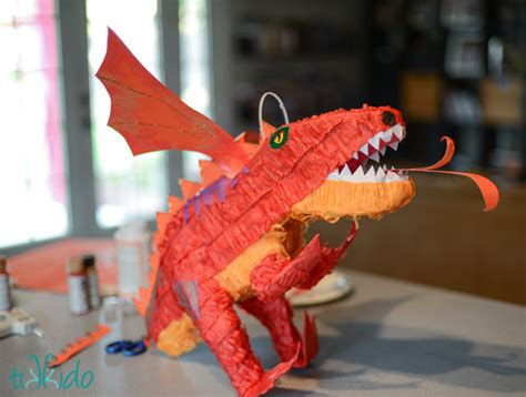 smaugdragon pinata fun family crafts