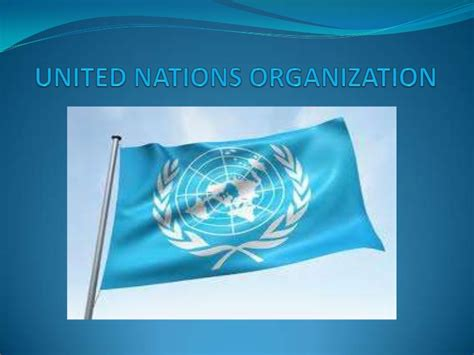 Organization Tips by United Nations Organization2