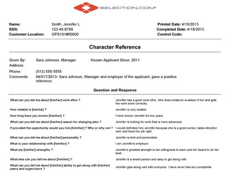 Business Credit Reference Check Template Sle Character Reference Letter Template Check Out This Background Check Reviews Website