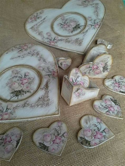 Decoupage Hearts - 784 best decoupage hearts corazones
