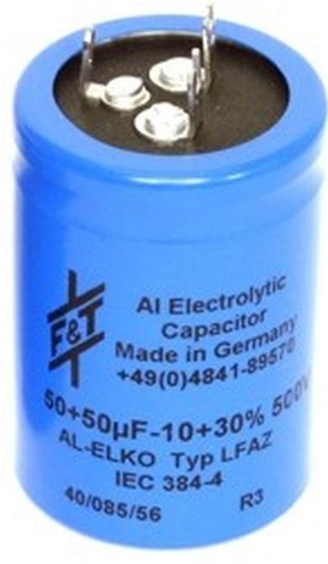 electronic capacitor values ft50x50 f t dual value radial capacitor 50 50 capacitors wagner store