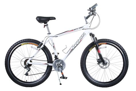 All About Bicycle 21 titan white all terrain 21 speed mountain bike