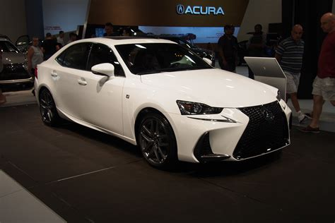 lexus black 2017 2017 lexus is makes north american debut 187 autoguide com news