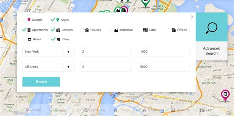 Advanced Search On Maps Search Easy Property Real Estate