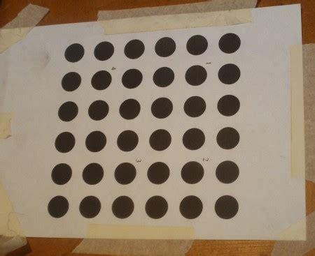 dot pattern calibration optical localization to 0 1mm no problemo edinburgh