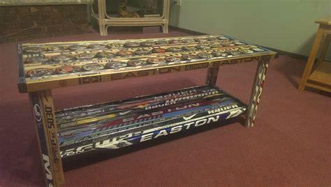 hockey stick coffee table album on imgur