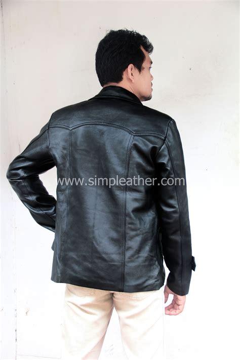 Jas Pria Semi Kulit50 jaket kulit pria jas semi jas tipe z101 simple leather