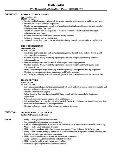 delivery resume sample mollysherman