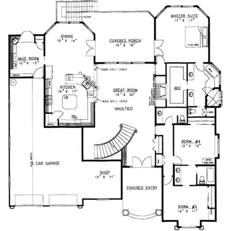 8 bedroom floor plans traditional style house plan 8 beds 6 00 baths 6271 sq
