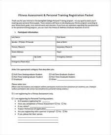 personal assessment template 7 assessment form sles free sle exle