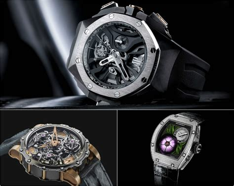 10 outrageous luxury watches from 2015 luxurylaunches