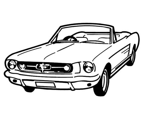 coloring pages cars mustang ford mustang gt car coloring pages best place to color