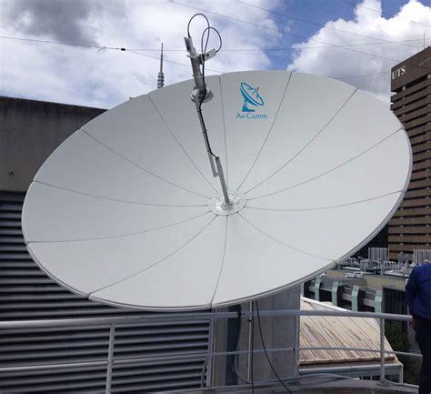 suman 3 7m ku band satellite dish av comm