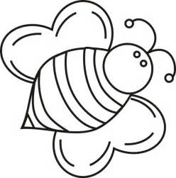 bee coloring page bee coloring page cliparts co