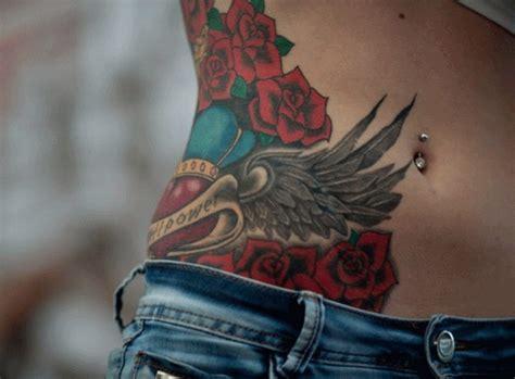 100 stomach rose tattoos cute 100 beautiful belly tattoos