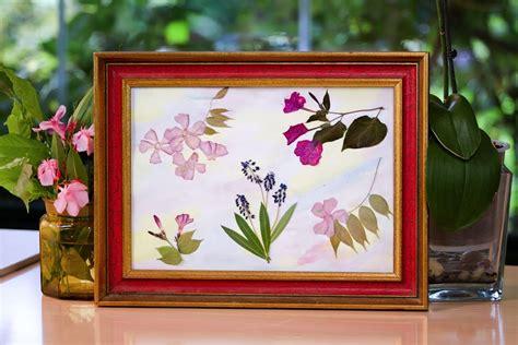 hacer un cuadro de una foto como hacer un cuadro de flores prensadas youtube