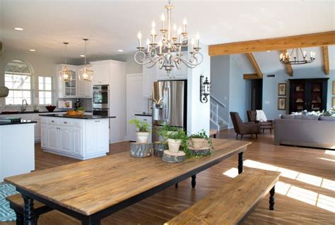 home design software on fixer upper as seen on hgtv s fixer upper long farmhouse dining room