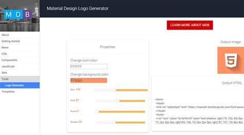 material design logo maker completely free material design logo generator