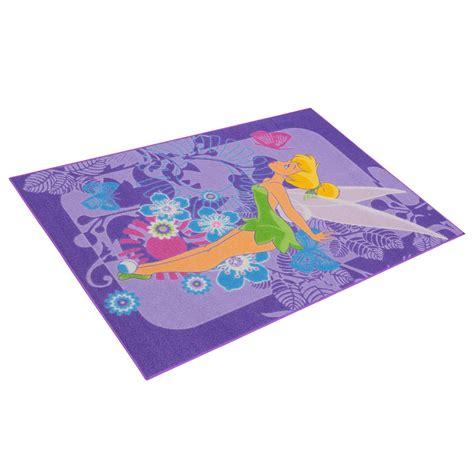 tinkerbell teppich kinderteppich tinkerbell tropical teppich in lila